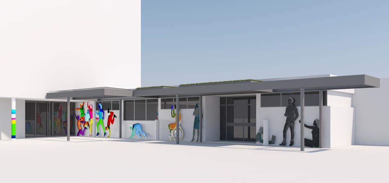 Visualisierung HWK Ludwigshafen Fassade